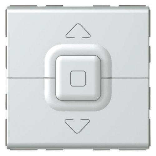 Mosaic - Interruptor para estores e toldos - 2 módulos - alumínio