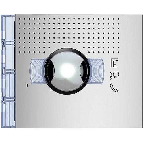 New Sfera - Frontal módulo áudio/vídeo grande angular - Alumínio