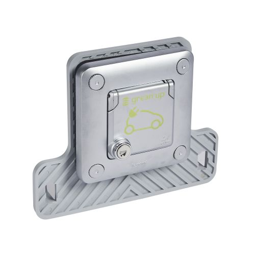 Green Up Access - Tomada de encastrar com chave 3,7kW Modo 1 e 2. IP55-IK10.