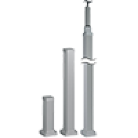 Colunas, meias colunas e mini colunas