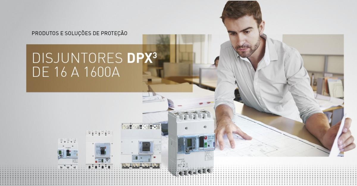 DPX³ magnetotérmicos e eletrónicos até 1600 A