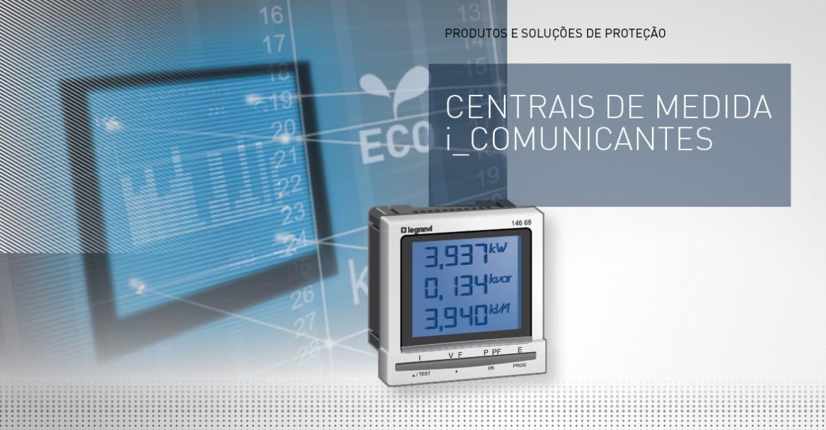 Centrais de medida e contadores de energia
